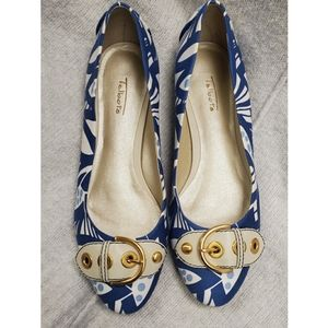 Talbots Ballet Flats with Buckle Detail